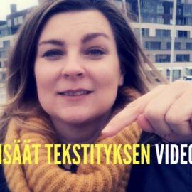 Lisää tekstitys videoon ja tavoita yleisösi Facebookissa
